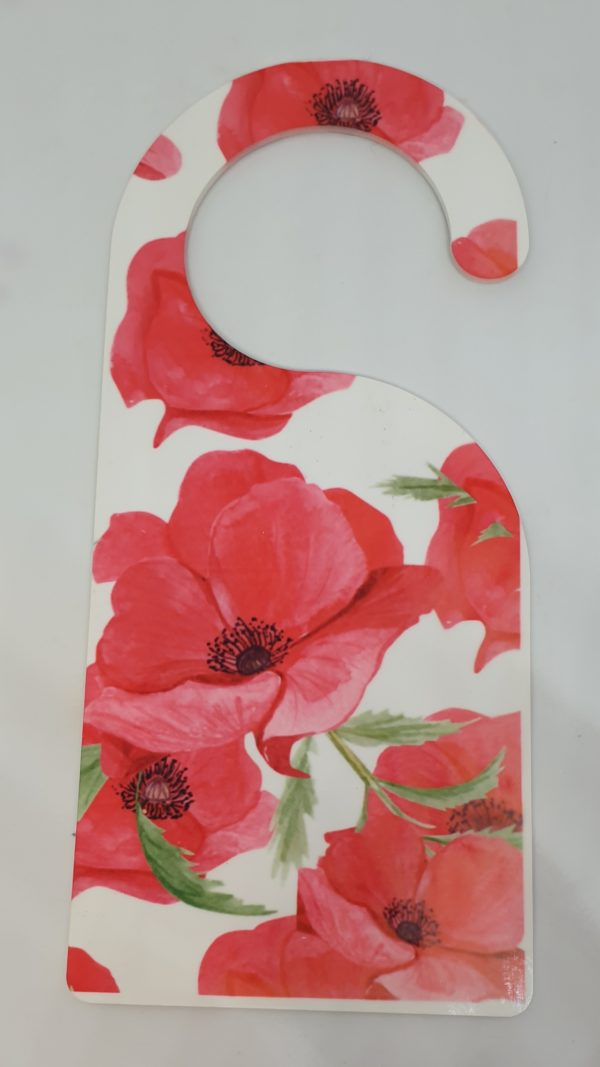 Poppy Design Sublimated Door Hanger