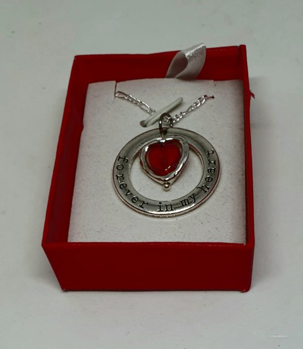 For ever in my Heart Pendant