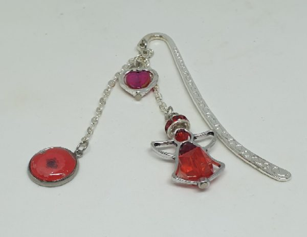 Remembrance Day Poppy Bookmark