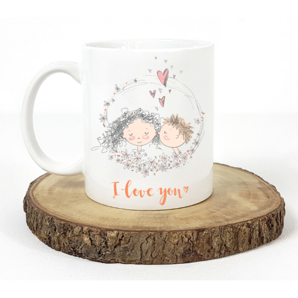 Cute Couples Ceramic 11oz Mug