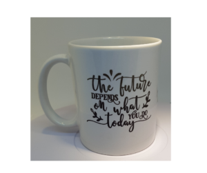 Motivational Quote 11oz Ceramic Mug