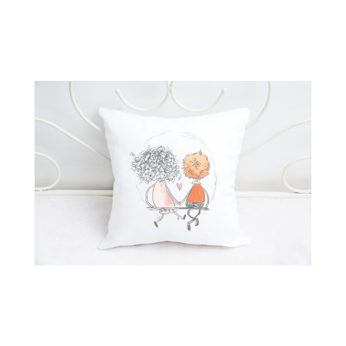 Cute Couples Collection 3 Scatter Cushion