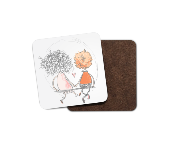 Cute Couples Collection 3 Drinks Coaster