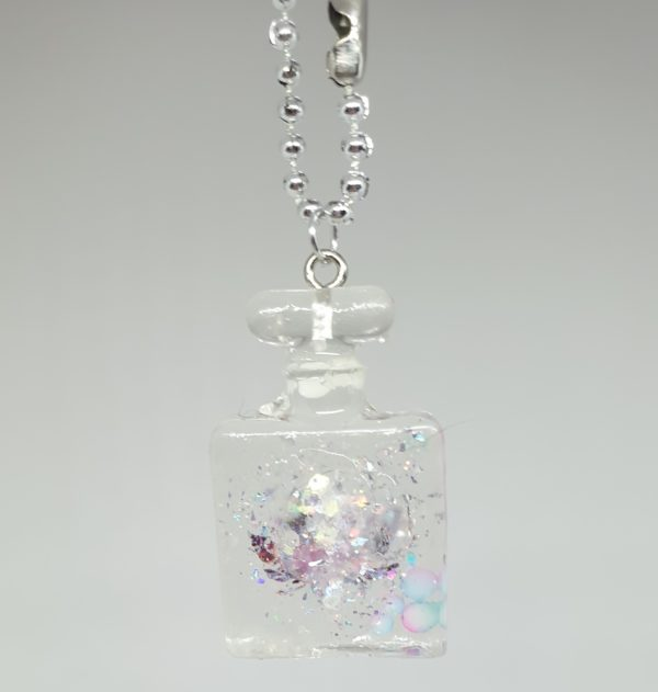Adorable Mini Perfume Bottle Keyring