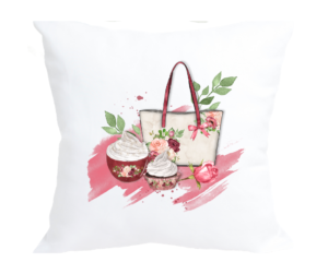 Summer Picnic Design Scatter Cushion