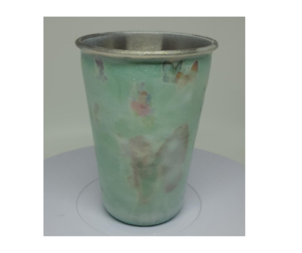 Handmade Resin Milk Bath Fantasy Theme Steel Tumbler