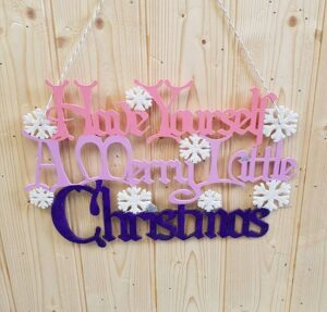 Magical Christmas Wall Hanging