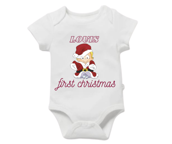 Christmas Baby Vest 0 -3 months