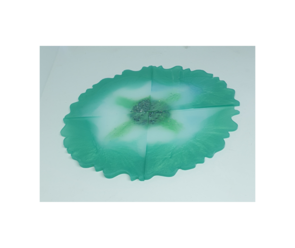 Greens Geode Agate Quarters Coaster