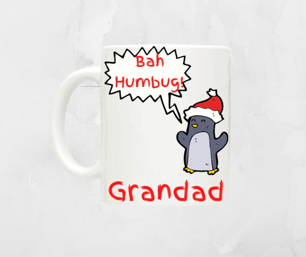 Personalised Humorous Christmas Mug